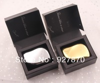 Free Shipping New Tangle Teezer Instant Detangling Hair Comb Gold And Silver Color Hair Brush With Gift Box 2 pcs/lot
