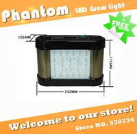Free shipping 50W Phantom LED grow light, dimming& timming, red:blue=8:1