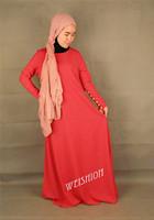 New arrive demin fabric turkish style  women abaya  islam jilbabs and abayas