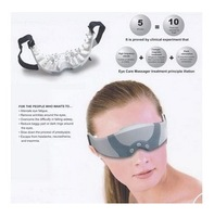 2pcs/lot  Mask Migraine DC Electric Care Forehead Eye Massager Relax Alleviate Eye Fatigue Free Shipping