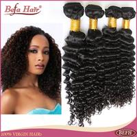 6A natural curly brazilian virgin hair weave befa hair products 4pcs lot free shedding tangle human hair extension befa hair