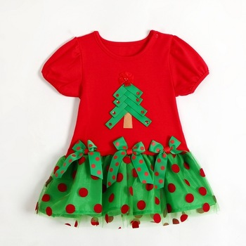 2014 New!Children's Christmas dress, girls Christmas dress, children's Christmas clothes,Children's clothes,girls dress