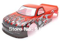 1/10 RC car body shell  Modellauto Karosserie Pick Up Truck Venom T-10 190mm S029R  free shipping