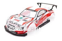 1/10 RC car Accessories 1:10 R/C car body shell  Lexus SC Racing 1/10 RC Car Karosserie Rot 190mm NO:003Red free shipping