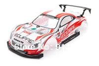 1/10 R/C car body shell  Lexus SC Racing 1/10 RC Car Karosserie Rot 200mm NO:003Red free shipping