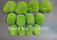 Free shipping Artificial grass moss stone foam material -- for 200pcs