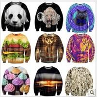 [Magic] Fashion 3013 Autumn-Summer Sweatshirt women,Tide Card 3D women's Hoodies Retail Or Wholesale 40 Model Size S- M-L-XL