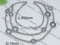 Min.order is $15(mix order) Wholesale Factory Price 316L Stainless Steel Vintage Choker Long Necklaces