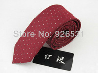 Necktie/red/white star every bits of bit design/polyester silk / 5 cm width/men marry tie,free shipping