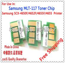 Toner Cartridge Chip For Samsung SCX 4650 4652 4655 FN Printer,For Samsung MLT-D117 MLT D 117 S Cartridge Chip,Free Shipping