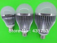 New LED Bulb Lamp 6W10W14W18W 24W Dimmable Ball Bulb AC85-265V E27 Warm White / White /cool white warranty 2 years freeshipping