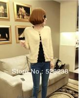 2013 autumn v neck full sleeve cardigan sweater
