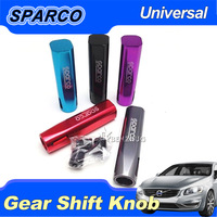 New Auto Car Universal Aluminum Manual Gear Shift Knob Stick Lever Seven Colors