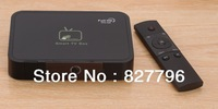 GV-17 Android 4.2.2 Allwinner A20 Dual Core 1GB/8GB Built-in+2.0 MP Camera+MIC+Remote Control Mini TV BOX HDMI HDD Player(Black)