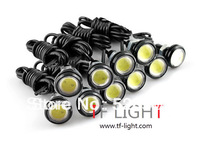 Free Shipping DIY 2.3cm 10* 3W 7000K 500-Lumen LED DRL  Waterproof Eagle Eye LED Day Time Running/Brake Lamps / Lights (DC 12V)