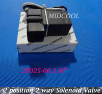"Micro Plastic Slenoid Valve 2P025-06 1/8"" 12v DC 2 position 2 way Mini Solenoid Valve Direct Acting Type Miniature Valve"