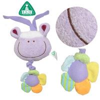 ELC New Blossom Farm Lavender plush baby pull string toy Musical Pull Down toys -Purple Lamb