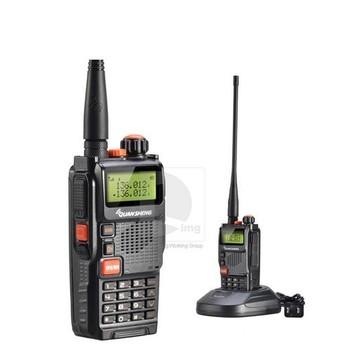 DHL freeshipping +quansheng tg-k4at(uv) walkie-talkie station uhf vhf dual band ham radio transceiver amateur radio transmitter