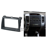 07-002 Top Quality Radio Fascia Panel for Toyota LEXUS GX 470  Land Cruiser Prado 120 Stereo Facia Dash CD Trim Installation Kit