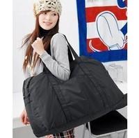 Special waterproof nylon bag hand   cross   black bag Messenger   Ladies Outdoor Travel Camping