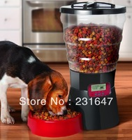 Electronic pet feeder automatic dog feeder