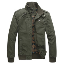 2015 New Arrival Men's Fashion Casual Winter Jacket Cotton Stand Collar Coat 4 Colors MWJ166(China (Mainland))