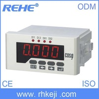 High Quality hot sale panel three-phase power factor meter digital wattmeter with RS-485 Communication port
