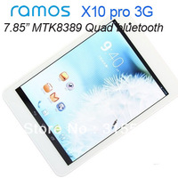 3G tablet 7.85inch Ramos X10 Pro fashion MTK8389 Quad core IPS 1024x768 1GB/16GB Bluetooth