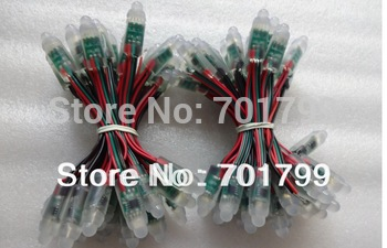 Promoion!!! DC5V 40nodes WS2811 pixel light;12mm diameter;IP68 rated;256gray scale;40pcs a string