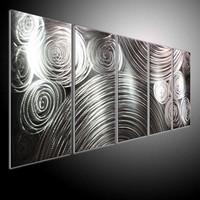 original metal art , abstract art,wall sculpture . metal painting wall oil abstract art line sculpture line 3.5KG