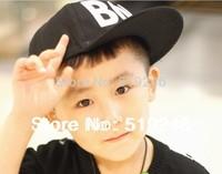 Free shipping Hotsale BOY  letter children baseball cap ,popular new  Kids snapback sun caps ,baby/child hip-hop hats