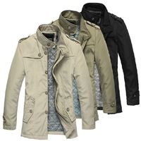 Christmas Promotion New 2013 Winter Men's Jackets Outdoor Jaquetas Male Coat Hot  Men Clothing Waterproof Korean Fashion Casacos