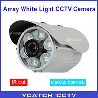 """Free Shipping Security 1/3"""" CMOS 700TVL IR Cut 6* Array LEDs IR Day/Night 50m Indoor/Outdoor Security CCTV Camera"""