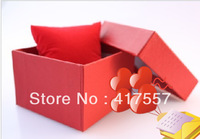 Wholesale and retail Watch Gift Box Elegant pure color watch box fashionable box for watch Free shipping (minimum order is 10)