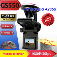 "Car DVR  Full HD 1920*1080P Camera with 120 degree View Angle+1.5"" LCD+Night Vision+HDMI+G-sensor+Motion Detection+Digital Zoom"