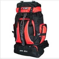 60L Mountaineering Bag Backpack Large Capacity Travel Bag Hiking Bag Free Shipping