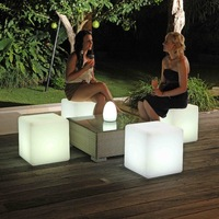 Nightclub furniture, 40cm led cube chair,led furniture,modern led chair,event furniture