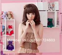 Free Shipping, non-mainstream wig girls with short hair BOBO head girls wig pear head