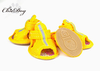 Summer pet shoes mesh breathable dog sport shoes non-slip shoes teddy dog shoes for summer small dogs boots footwear chihuahua