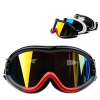 Skiing Mirror Double Layer UV PC Windproof Anti-Fog Ski Eyewear Ski Goggles With Box White 632