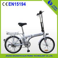 "20"" 36v  10ah folding e-bike EN15194 electric bicycle"
