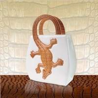 Free shipping Amliya 2014 New women's fashion Crocodile handbags/Crocodile shoulder bag/ Tote bag