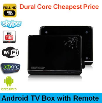 VSMART V102S Android TV Box Smart TV Player Amlogic-8726M6 Cortex A9 CPU Max.1.5GHz 1GB/4GB Support XBMC HD1080P DLNA