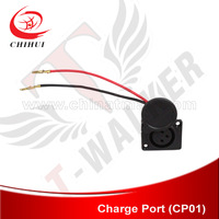 Free Shipping Electric Scooter Charger Port/ Charger Socket (T-Walker Electric Scooter Parts)