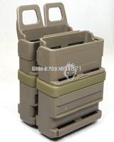 FastMag Gen 3 5.56mm Style Magazine Pouch 2pcs/Set for M4 Mag (DE)