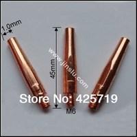 free shipping E-Cu tip,10PCS 1.0mm + 10 PCS 1.2mm,MIG-350A welding tip,MIG contact tip, 20PCS  a lot ,PANA style