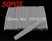 Free Shipping Grey Emery File 50pcs/lot Emery Board Grey Sandpaper Nail Files for Nail Art Tools