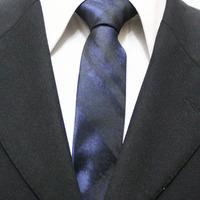 Mens Classic Check Navy Blue With Black Skinny Neckties For Men Grid Casual Unique Ties For Man Gravatas 5CM F5-M-1