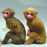 Plush monkey fur decoration crafts derlook photography props model