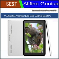 Free shipping AllFine Fine7 Genius 7inch IPS ATM7029 Quad Core Tablet PC 1.5GHz 1GB RAM 8GB Android4.1 Webcam WIFI HDMI MID